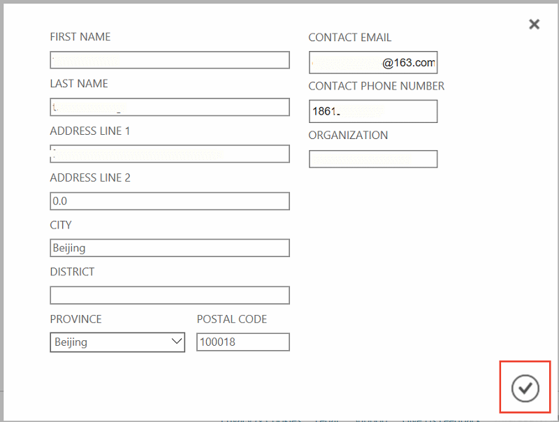 Change the Azure subscription name and account contact