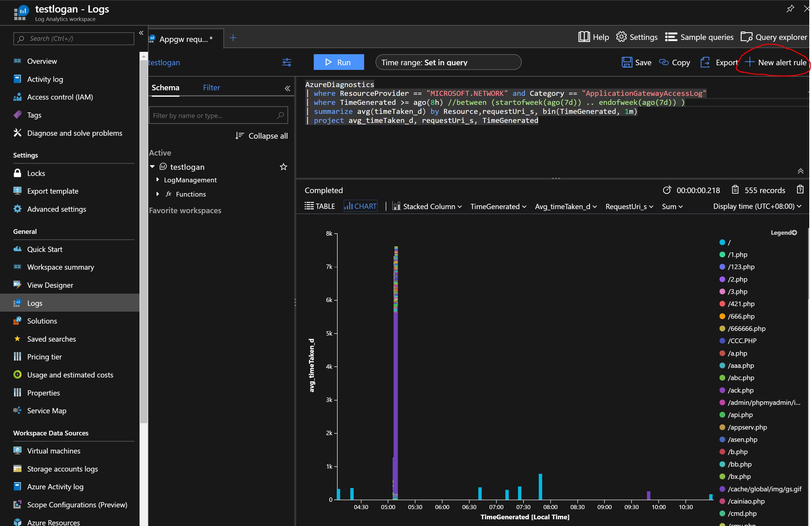 如何简单实现对应用程序网关日志的自动监控和告警| Azure Docs