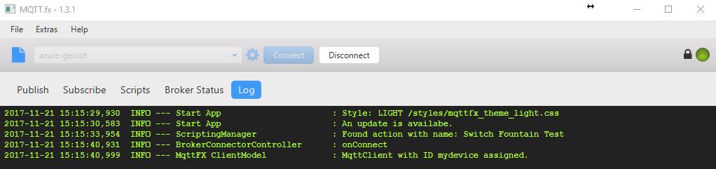 使用MQTT FX 工具连接IoT Hub   Azure Docs