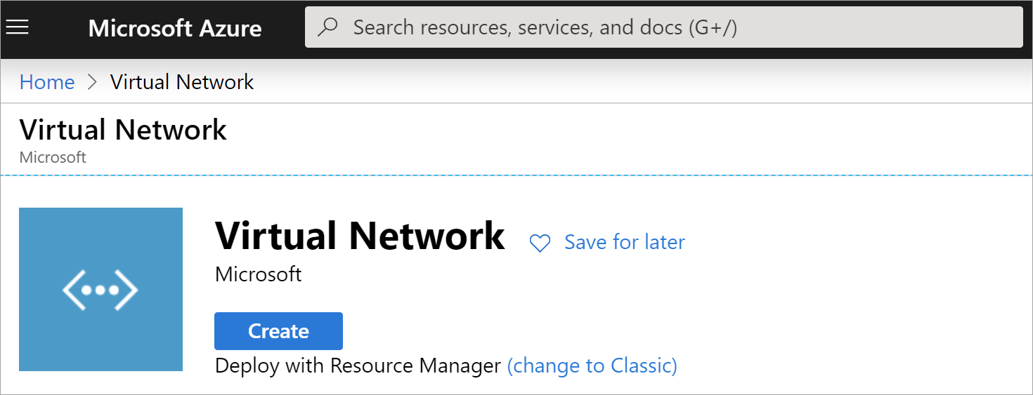 virtual network page